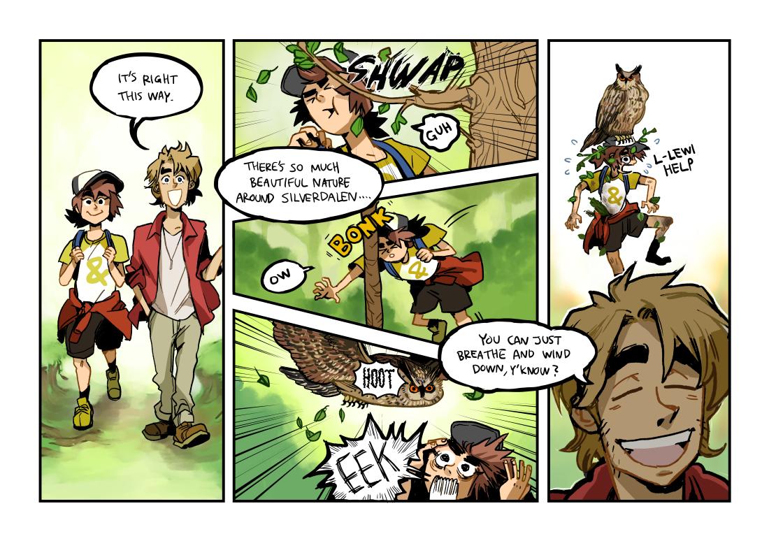 Parallax Guest Comic Lomax Vs Nature